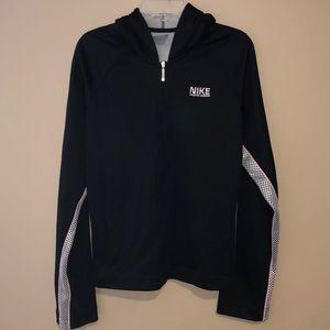 Nike Athletic Division Black Zip-up Hoodie